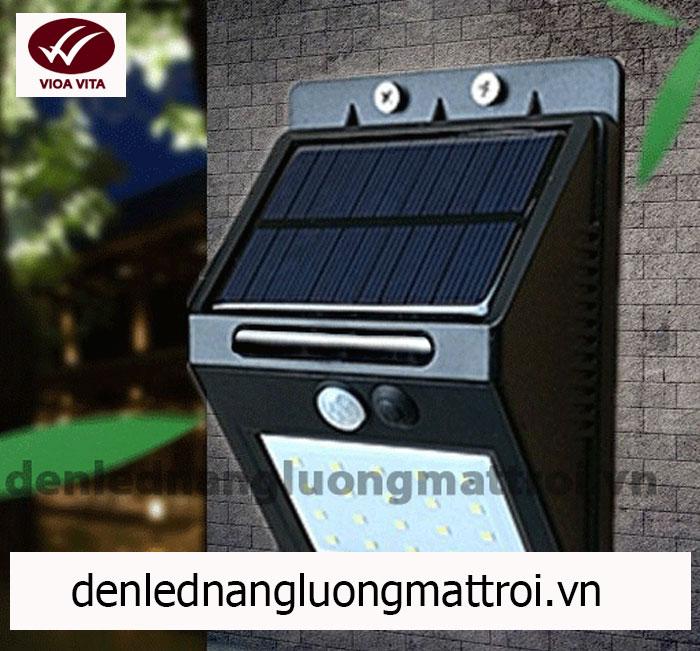 đèn led năng lượng mặt trời cảm ứng chuyển động