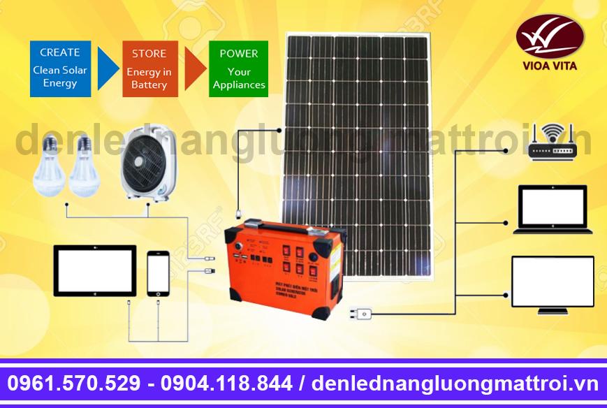 máy phát điện năng lượng mặt trời Lithium
