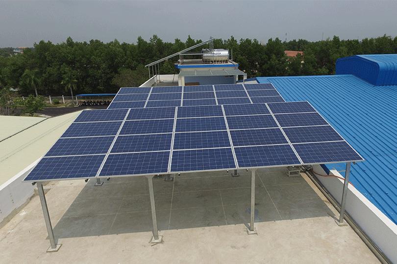 tấm pin năng lượng mặt trời 385w poly